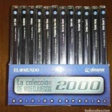 Videojuegos y Consolas: LA COLECCION DE VIDEOJUEGOS 2000 12 CD ROM. Lote 180963126
