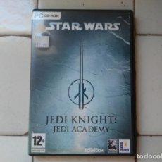 Videojuegos y Consolas: STAR WARS JEDI KNIGHT: JEDI ACADEMY PC CD-ROM ACTIVISION EN INGLÉS. ENGLISH VERSION (2CD + 1 MANUAL). Lote 181166107