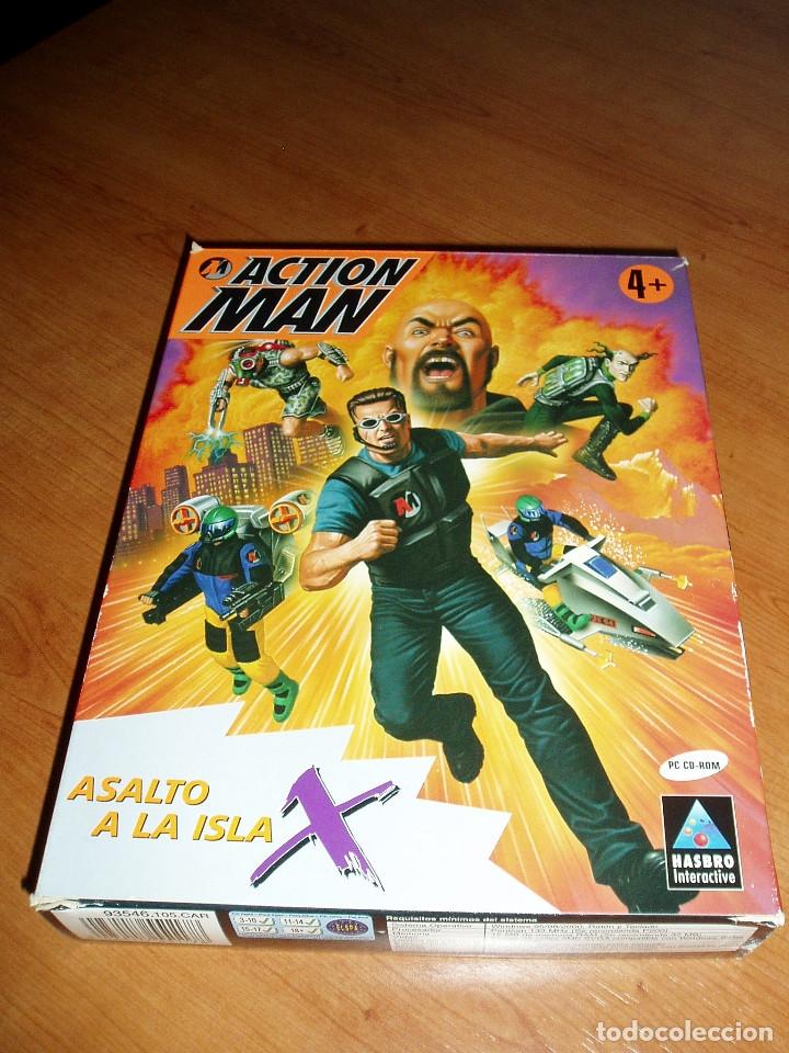 ACTION MAN ASALTO A LA ISLA X JUEGO PC CAJA CARTON (Juguetes - Videojuegos y Consolas - PC)