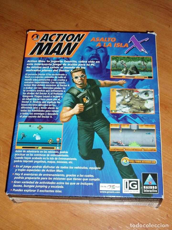 Videojuegos y Consolas: ACTION MAN ASALTO A LA ISLA X JUEGO PC CAJA CARTON - Foto 2 - 32629633