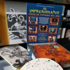 Videojuegos y Consolas: CAJA JUEGO ORDENADOR ELVIRA 2 THE JAWS OF CERBERUS ERBE 1991 PC GAME ELVIRA II. Lote 181913122