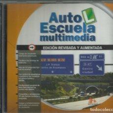 Videojuegos y Consolas: AUTOESCUELA MULTIMEDIA ED. 1999. Lote 182020791