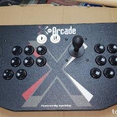 Videojuegos y Consolas: X-ARCADE CONSOLA MANDO DOBLE JOYSTICK CASI A ESTRENAR CON ADAPTADOR PARA PS2. Lote 182259216