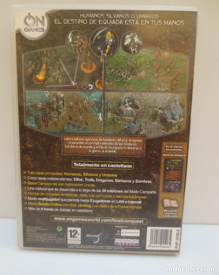 Videojuegos y Consolas: JUEGO PC FINAL CONQUEST - Foto 2 - 182309668