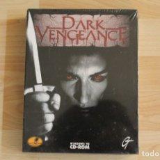 Videojuegos y Consolas: DARK VENGEANCE PC BOX CAJA CARTON PRECINTADO. Lote 182407338