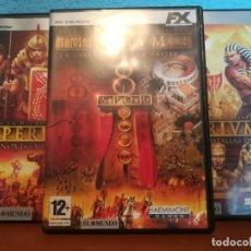 Videojuegos y Consolas: PACK IMPERIUM + IMPERIUM II + IMPERIUM III. Lote 182500272