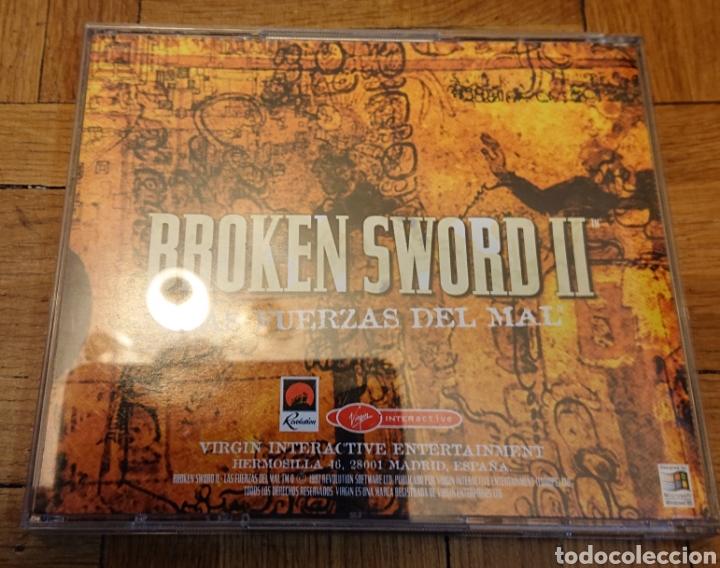 Videojuegos y Consolas: Juego broken SWORD II, pc, original y buen estado - Foto 3 - 182664110