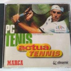Videojuegos y Consolas: 3 CD ROM, PC TENIS MARCA, ENCICLOPEDIA MULTIMEDIA RAPACES IBERICAS BIO Y VIAJE AL PASADO PCMANIA. Lote 182721856
