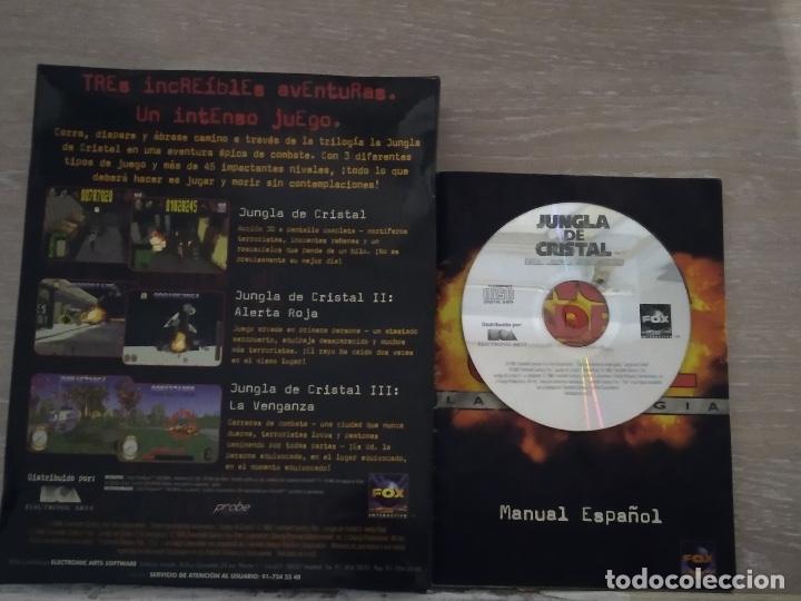 JUEGO PC JUNGLA DE CRISTAL -LA TRILOGÍA- WINDOWS '95' (Juguetes - Videojuegos y Consolas - PC)