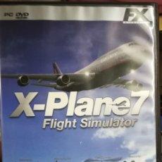 Videojuegos y Consolas: JUEGO PC X-PLANE7. Lote 182811573