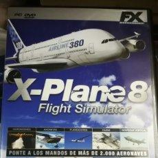 Videojuegos y Consolas: JUEGO PC X-PLANE8. Lote 182811591
