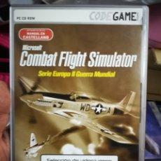 Videojuegos y Consolas: JUEGO PC COMBAT FLIGHT SIMULATOR. Lote 182811660