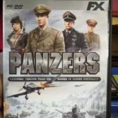 Videojuegos y Consolas: JUEGO PC PANZERS. Lote 182811768