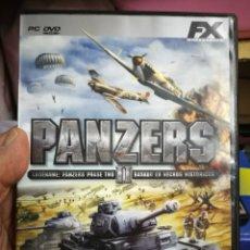 Videojuegos y Consolas: JUEGO PC PANZERS II. Lote 182811808