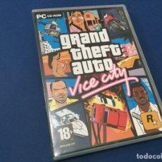 Videojuegos y Consolas: PC CD ROM GRAND THEFT AUTO VICE CITY 3 CD + GUIA POSTER VER FOTOS. Lote 182816245