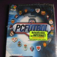 Videojuegos y Consolas: PC FUTBOL PCFUTBOL 2001 - DINAMIC MULTIMEDIA - PRECINTADO COMPLETO. Lote 182824223