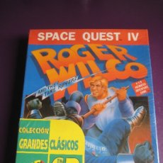 Videojuegos y Consolas: SPACE QUEST IV - ROGER WILCO AND THE TIME RIPPERS - PC GAME SIERRA PRECINTADO - 1991 -. Lote 182824725