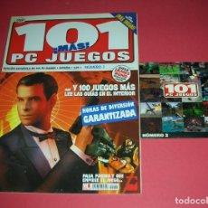 Videojuegos y Consolas: 101 PC JUEGOS NÚMERO 2 + CD REVISTA VIDEOJUEGOS NUEVA , NO LEÍDA , CD SIN USAR NI VISIONADO .. Lote 183047077