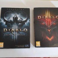 Videojuegos y Consolas: PC DIABLO III + DIABLO EXPANSION REAPER OF SOULS. Lote 183387773