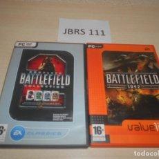 Videojuegos y Consolas: PC - BATTLEFIELD 2 COMPLETE EDITION + BATTLEFIELD 1942. Lote 183568156