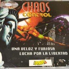 Videojuegos y Consolas: CHAOS CONTROL / PC-CD ROM-PHILIPS-1995 / DE LUJO.. Lote 184096086