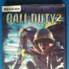 Videojuegos y Consolas: PC DVD ROM CALL OF DUTY 2 JUEGO. Lote 184102862