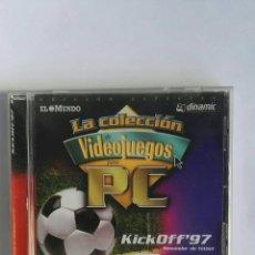 Videojuegos y Consolas: KICK OFF 97 PC DINAMIC. Lote 184299475
