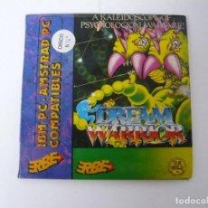 Videojuegos y Consolas: DREAM WARRIOR / IBM PC Y COMPATIBLES / VIDEOJUEGO RETRO VINTAGE / DISKETTE. Lote 184790536