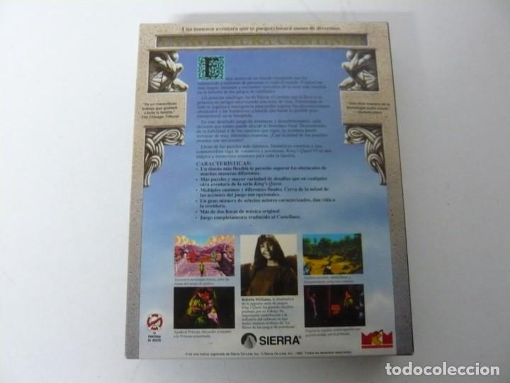 Videojuegos y Consolas: King's Quest VI de Sierra - ERBE / IBM PC y Compatibles / Videojuego Retro vintage / Diskette - Foto 2 - 184790632
