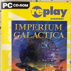 Videojuegos y Consolas: IMPERIUM GALACTICA PC CD ROM VIDEOJUEGO. Lote 185226416