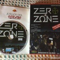 Jeux Vidéo et Consoles: ZERO ZONE AVENTURA GRAFICA 3D TRADUCIDO DOBLADO CASTELLANO WINDOWS 95 CD ROM KREATEN . Lote 185389825