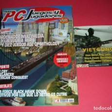 Videojuegos y Consolas: REVISTA PC JUEGOS Y JUGADORES Nº 52 +1 CD , 96 PÁGINAS . NO LEÍDA, SÓLO 1 CD NUEVO .. Lote 185879548