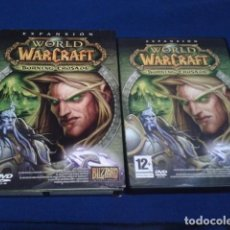 Videojuegos y Consolas: DVD ROM ( WORLD OF WARCRAFT - EXPANSION - THE BURNING CRUSADE ) BLIZZARD PAL ESPAÑA -. Lote 186234493