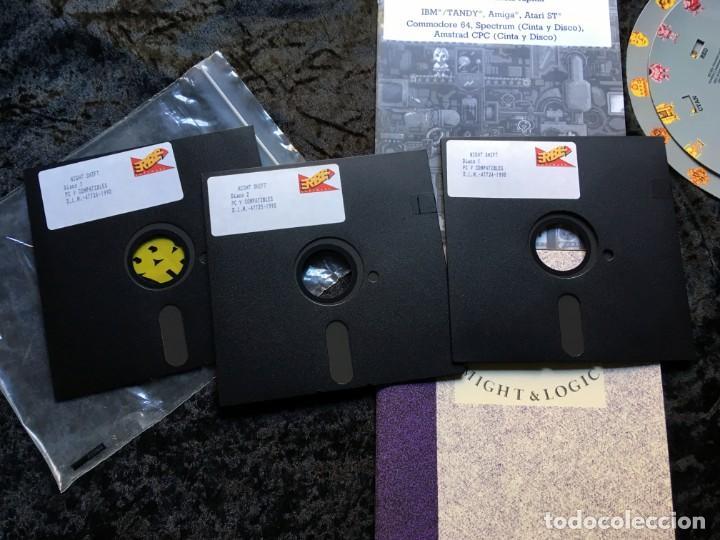 Videojuegos y Consolas: Night Shift [LucasFilms Games - LucasArts] 1990 Erbe Software [PC 5 1/4] en caja - Star Wars - Foto 3 - 186344398