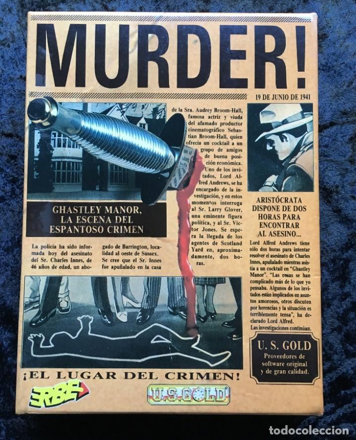 MURDER - ERBE SOFTWARE - U.S. GOLD - [PC 5 1/4] EN CAJA (Juguetes - Videojuegos y Consolas - PC)