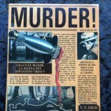 Videojuegos y Consolas: MURDER - ERBE SOFTWARE - U.S. GOLD - [PC 5 1/4] EN CAJA. Lote 186345607