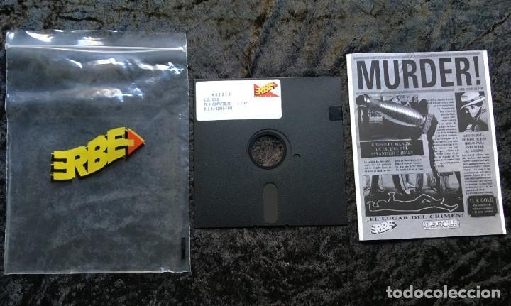 Videojuegos y Consolas: MURDER - ERBE SOFTWARE - U.S. GOLD - [PC 5 1/4] EN CAJA - Foto 2 - 186345607