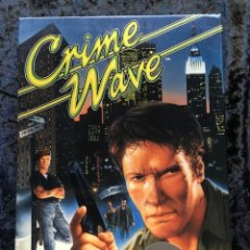 Videojuegos y Consolas: CRIME WAVE - ERBE SOFTWARE - U.S. GOLD - [PC 5 1/4] EN CAJA. Lote 186347113