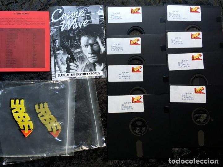 Videojuegos y Consolas: CRIME WAVE - ERBE SOFTWARE - U.S. GOLD - [PC 5 1/4] EN CAJA - Foto 2 - 186347113