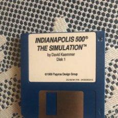 Videojuegos y Consolas: JUEGO PC INDIANÁPOLIS 500 THE SIMULATION DISKETTE 3 1/2. AÑO 1989. Lote 186360721