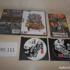 Videojuegos y Consolas: PC - GTA III , EDICION ESPAÑOLA , COMPLETO. Lote 187417922