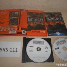 Videojuegos y Consolas: PC - BATTLEFIELD 1942 , EDICION ESPAÑOLA , COMPLETO. Lote 187419962
