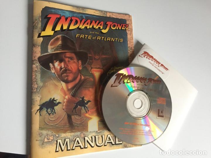 INDIANA JONES AND THE FATE OF ATLANTIS (PC CD-ROM) (Juguetes - Videojuegos y Consolas - PC)