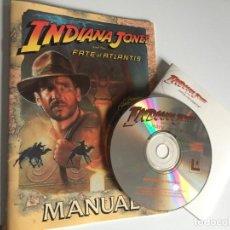 Videojuegos y Consolas: INDIANA JONES AND THE FATE OF ATLANTIS (PC CD-ROM). Lote 187455723