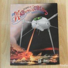 Videojuegos y Consolas: THE WAR OF THE WORLDS LA GUERRA DE LOS MUNDOS JEFF WAYNES PC BOX CAJA CARTON. Lote 213507981