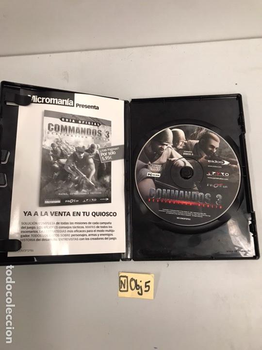 Videojuegos y Consolas: COMMANDOS 3 JUEGO DE PC - Foto 2 - 188600260