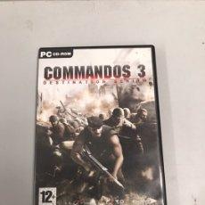 Videojuegos y Consolas: COMMANDOS 3 JUEGO DE PC. Lote 188600260