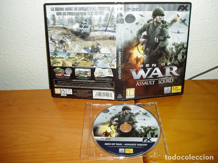 Videojuegos y Consolas: MEN OF WAR ASSAULT SQUAD JUEGO PC DVD - Foto 2 - 188719372