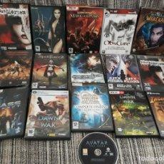 Videojuegos y Consolas: LOTE VARIADO DE JUEGOS DE PC. Lote 189156631