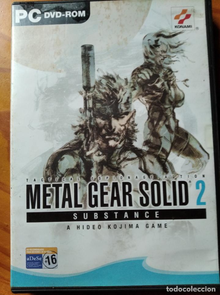 METAL GEAR SOLID 2, SUBSTANCE - PC DVD- PAL ESPAÑA- (Juguetes - Videojuegos y Consolas - PC)
